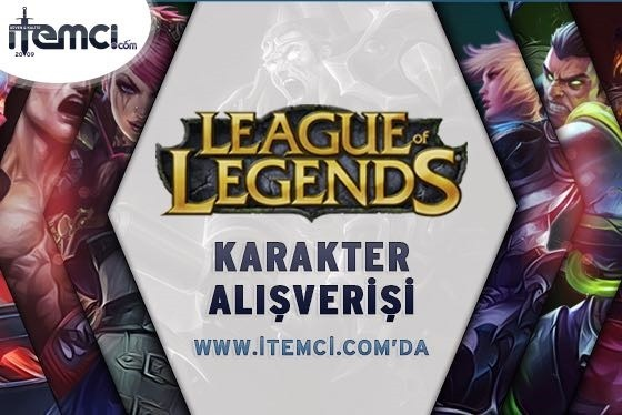 League Of Legends Karakter Alışverişi itemcide